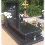 indian black grobowiec